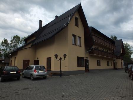 Hotel Galica w Koniówce – tutaj odbyła się część teoretyczna sympozjum