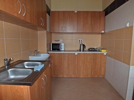 Tak wyposażona kuchnia znajdowała się na każdym z pięter